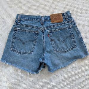 Vintage Levi's 555 Denim Cutoff Shorts